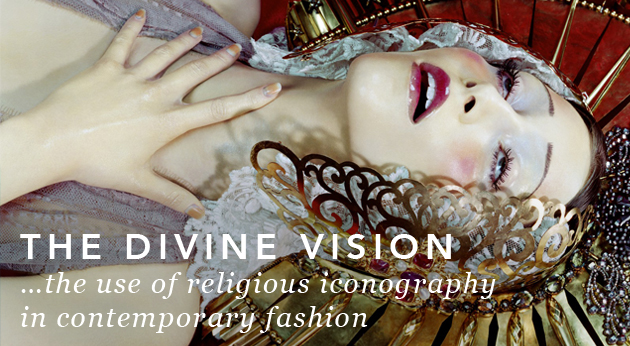 .the use of religious iconography in contemporary fashion